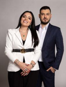 Rodrigo Gaspar e Viviane Gaspar