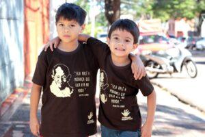 Fred criou arte de camisetas vendidas na Central de Presente